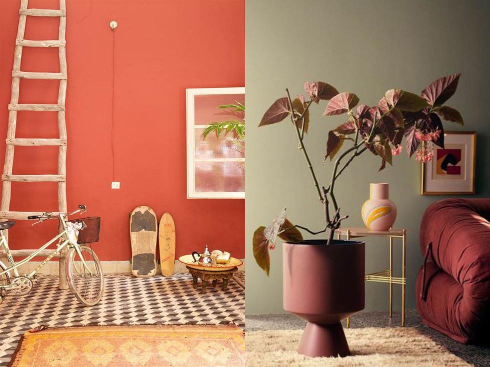 ¿Cómo decorar un salón en color terracota de la forma perfecta?