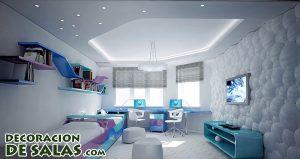 Distintos materiales para decorar paredes