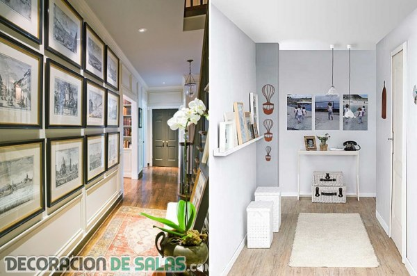 Cómo decorar los pasillos con estilo
