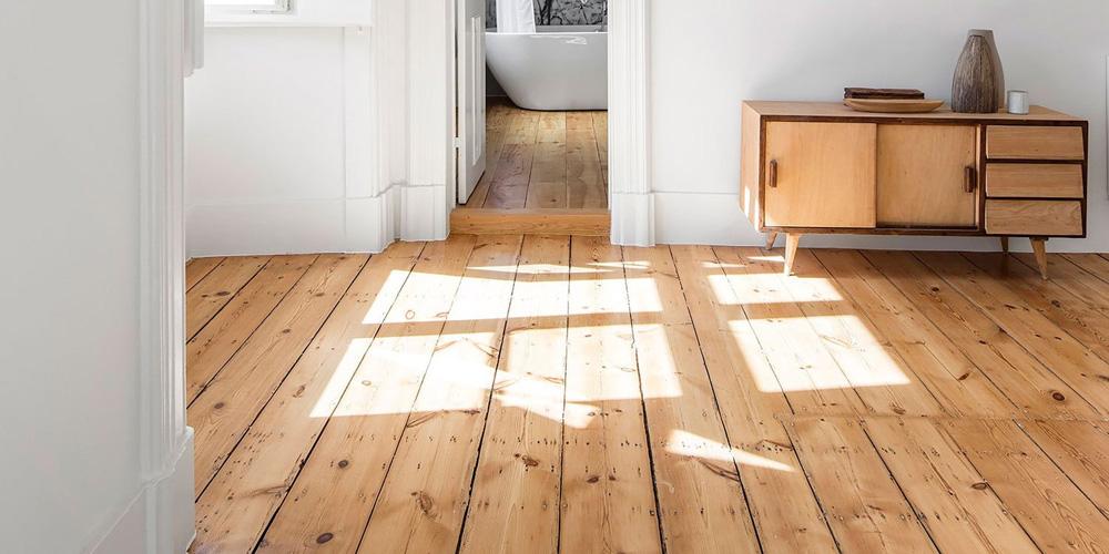 La mejor opción para limpiar el suelo de madera