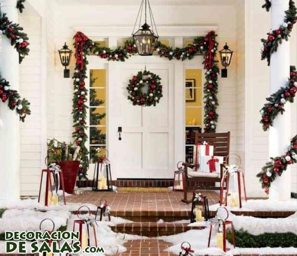 Decora las puertas en navidad