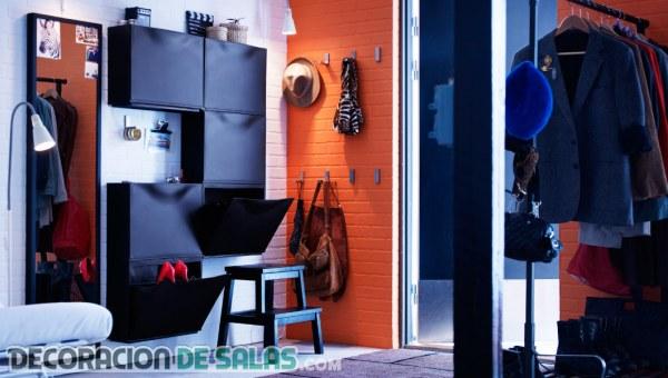 Ideas de recibidores multifuncionales