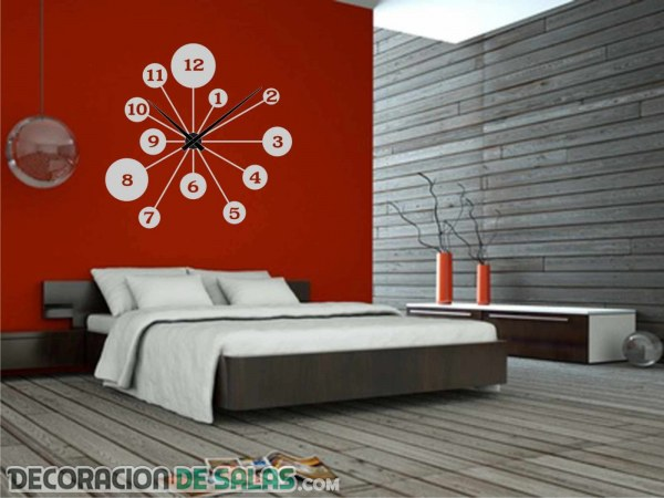 Decoración de interiores con relojes