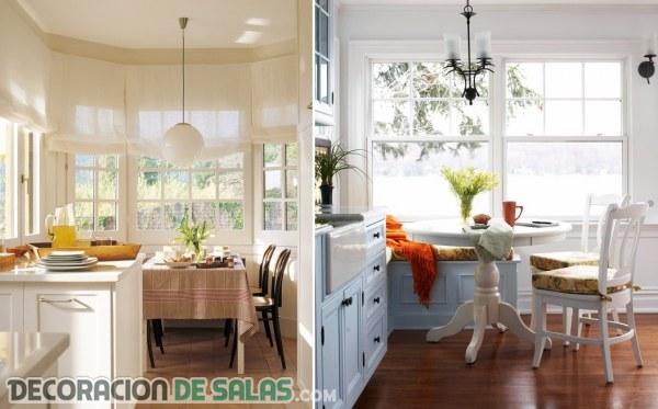 Ideas de mesas para comer en la cocina