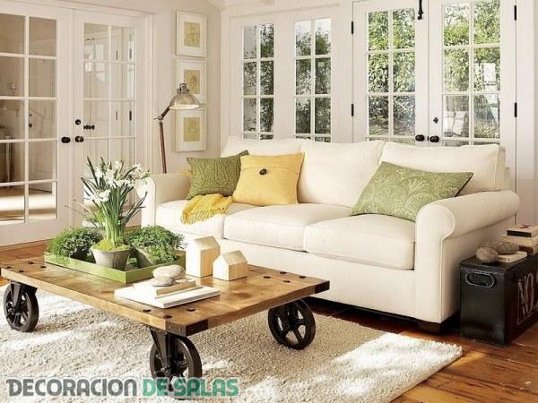 Inspírate con esta decoración de salas tan especial