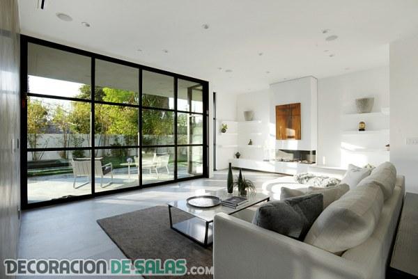 Increíbles salas con terrazas