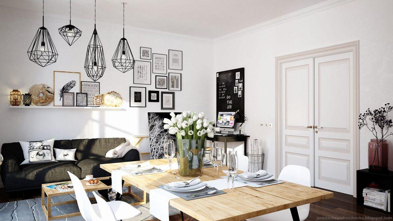 salones y salas de estar modernas