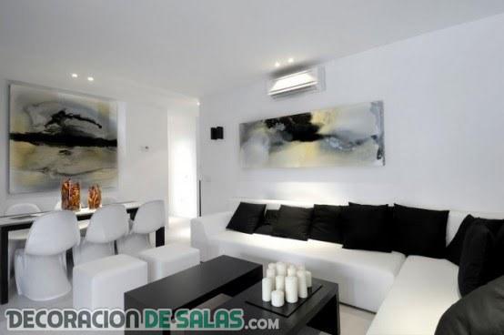 5 salas con claro estilo minimalista