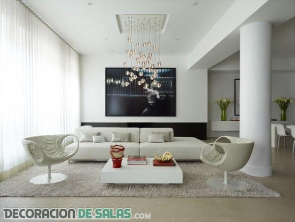 Cambios sencillos para hacer en la decoración del salón
