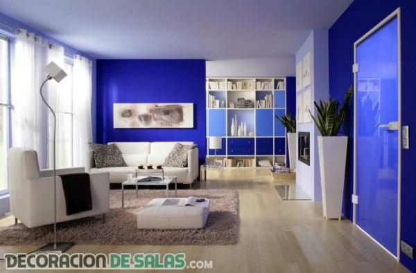 Azul eléctrico para la decoración de tu hogar