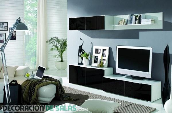 Cómo combinar el blanco y el negro en la decoración