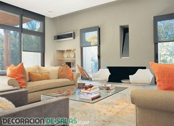 Diseños de salones acogedores y contemporáneos