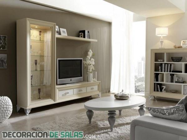 Decoración de salones clásicos y siempre elegantes