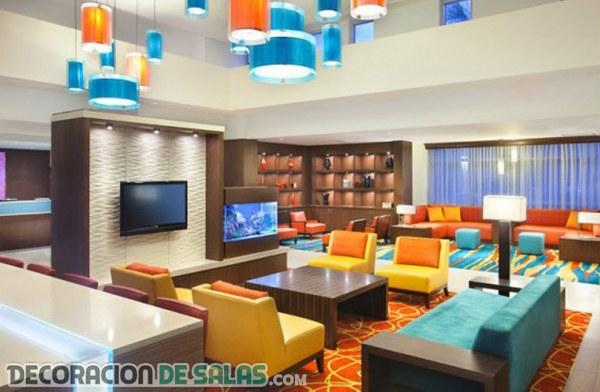 Dale color y modernidad a tus salones