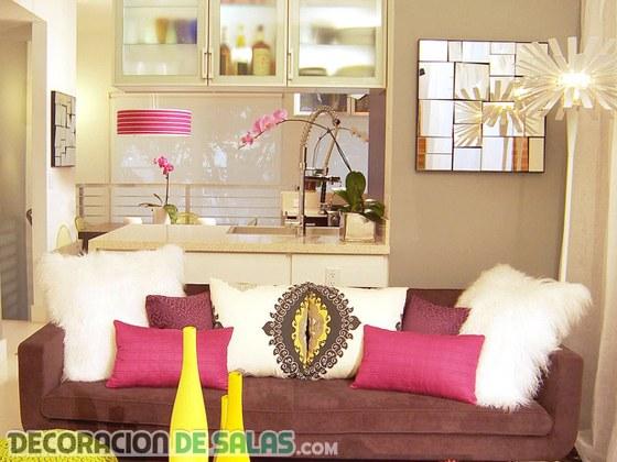 Combinando colores intensos en nuestra decoración