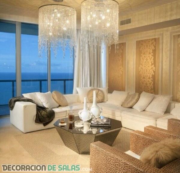 El lujo invade la decoración gracias al dorado