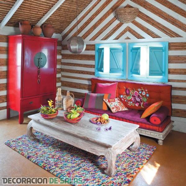 Decoración ecléctica para tu hogar