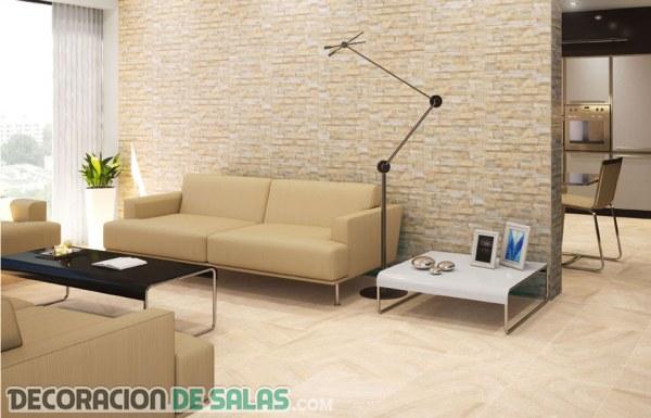 Paredes de piedra para decorar decoraci n de salas - Decoracion paredes de piedra ...