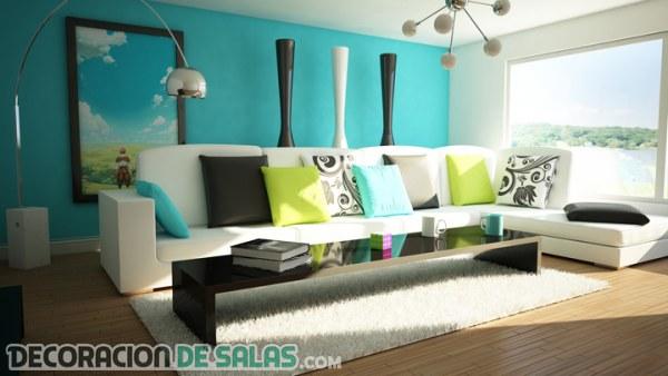 Los mejores colores para tu salón