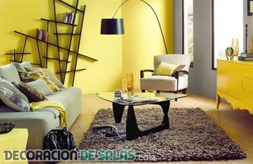 El color del sol también decora los salones más vivos