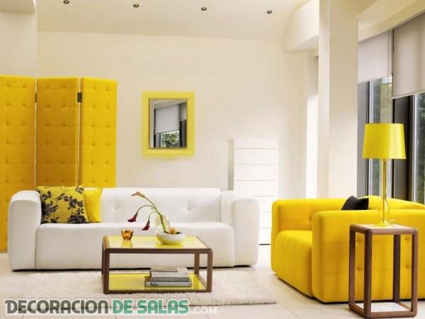 Salones con estilo muy modernos