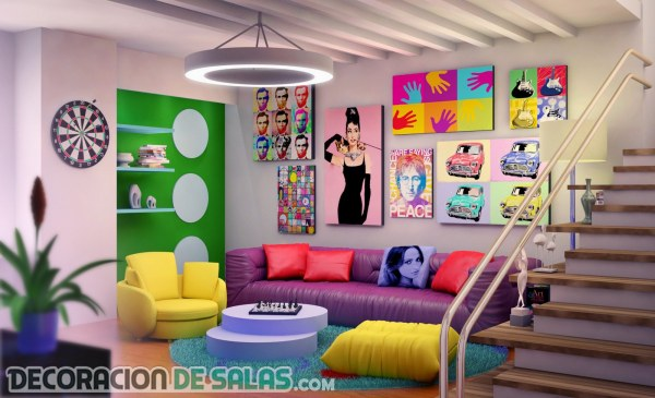 ¿Te atreves con la decoración Pop-art?
