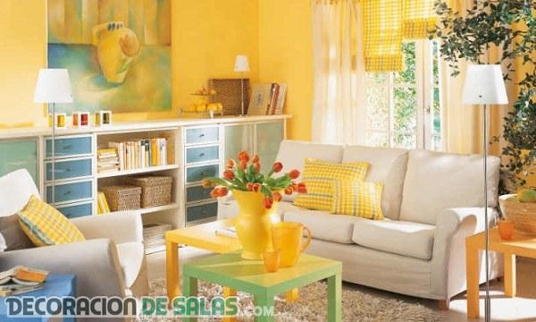 4 colores modernos para tu salón