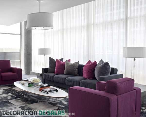 ¿Te gusta la decoración en color ciruela?
