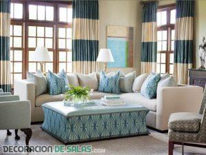 ¡Llega el verano a la decoración del salón!
