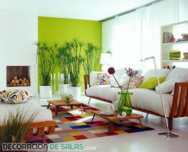 Añade color a tu hogar sin grandes cambios