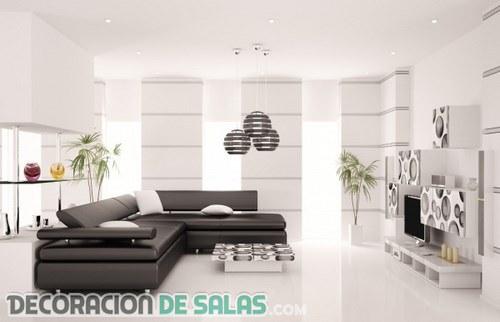 ¿Quieres crear un salón de estilo minimalista?
