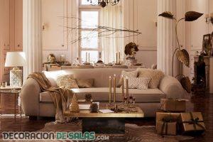 Comedores y salones de Zara con estilo navideño