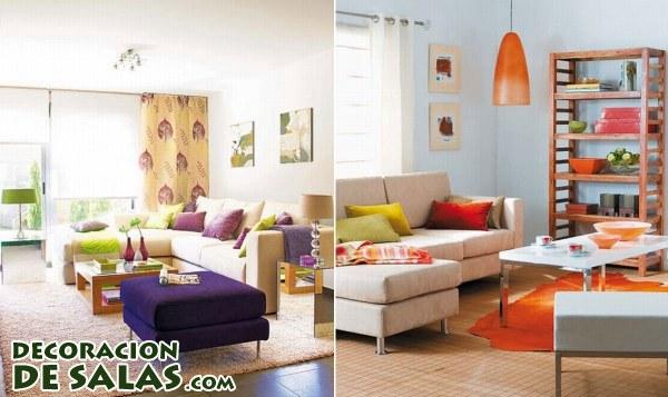 Colores para salones actuales