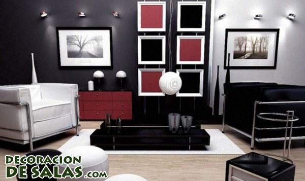 ¿Colores rojizos para tu salón?