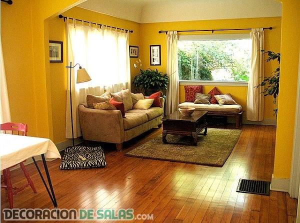 Salones en amarillo