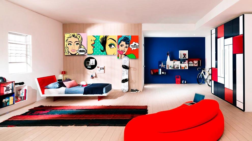 Decoración al estilo Pop Art de interiores ¿Cómo conseguirla?
