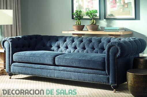 Ideas perfectas para decorar con un sofá Chester