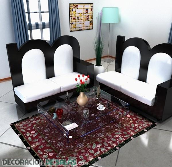 Muebles para decorar con formas de letras