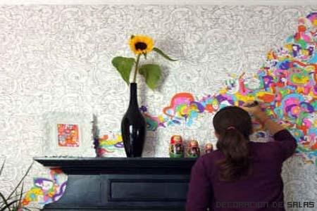 Técnicas para pintar estancias