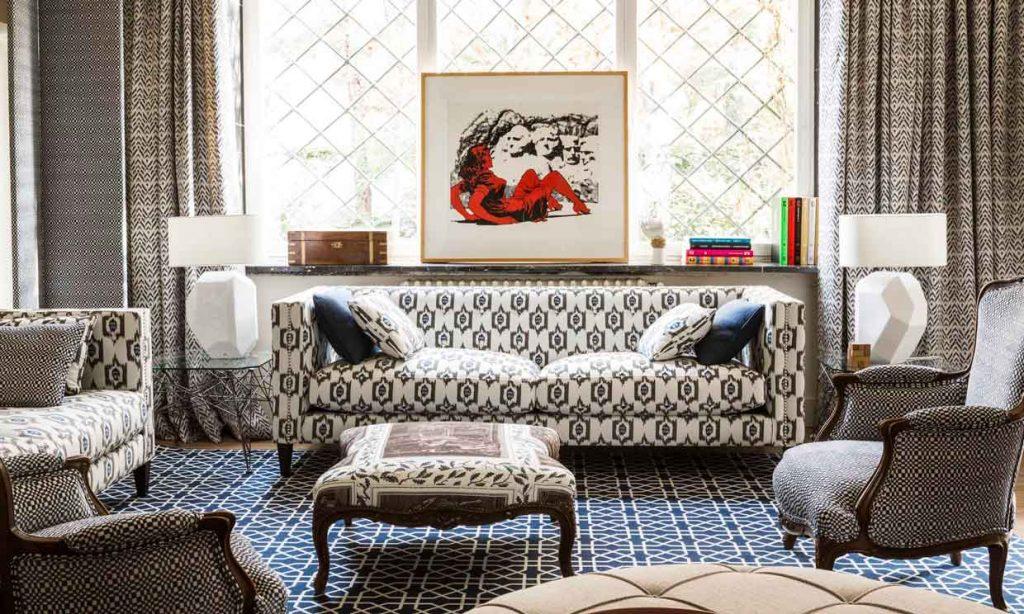 telas para sofa y muebles clasicos