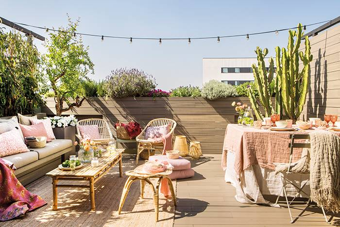¡Vamos preparando la terraza para primavera!