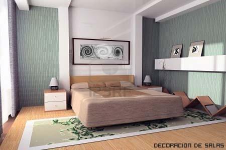 Dormitorio para el descanso