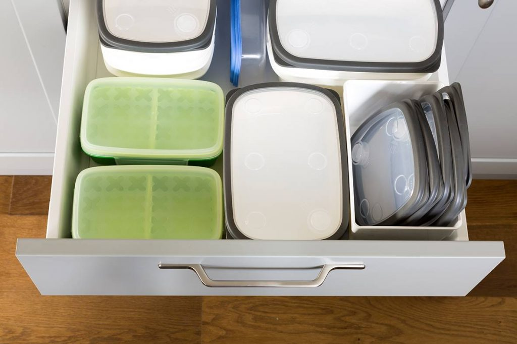 organizar utensilios de cocina