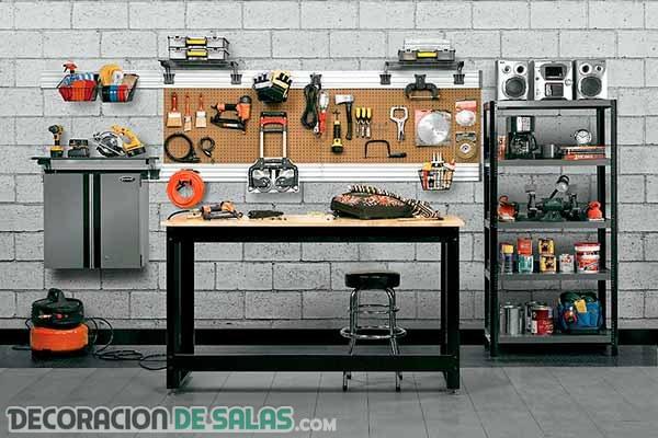 Pasos para organizar nuestro garaje