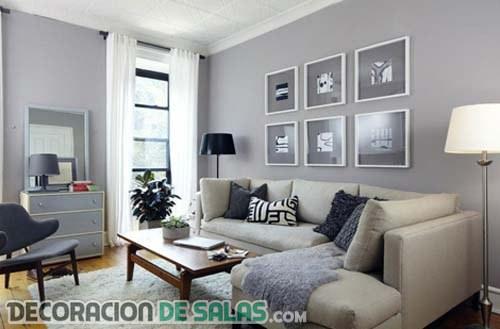 Las grandes ventajas de decorar en color gris