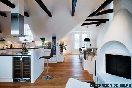 Vigas decorativas para el techo